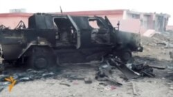 Aftermath Of Battles Between Kurdish Forces And IS In Iraq