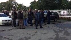 Radnici blokirali KAP, intervenisala policija