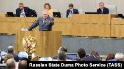 Владимир Жириновский, лидер фракции ЛДПР в Госдуме