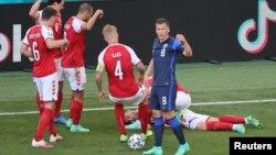 Lojtari Christian Eriksen pasi humbi ndjenjat në fushën e futbollit.