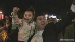 Հայաստանի թիմը հաղթել է. Երեւանի փողոցներում տոն է