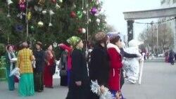 Aşgabat: Täze ýyl ýolkasynda