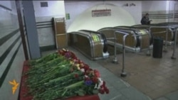 Day Of Mourning For Moscow Metro Victims