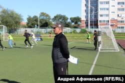 "тренер ""Цунами"" Евгений Матвеев"