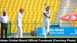 آرشیف، بازی تست میان تیمهای کرکت افغانستان و زیمبابوی