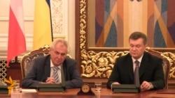 Янукович і Земан зустрілися у Києві
