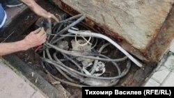 """Шахтата пред болница """"Св. Иван Рилски"""""""