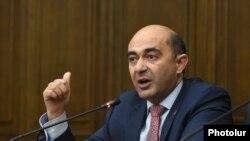 «Լուսավոր Հայաստան» կուսակցության նախագահ Էդմոն Մարուքյան