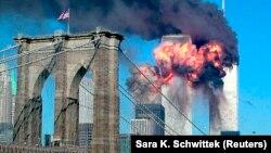 Нью-Йоркдаги Жаҳон савдо марказига 2001 йил 11 сентябрда иккита самолёт келиб урилган.