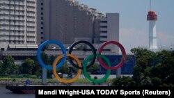 Олимпиада өтетін Токио қаласы. 19 шілде 2021 жыл.