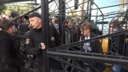 «Фестиваль рівності» в Запоріжжі: з постраждалими і затриманими (відео)