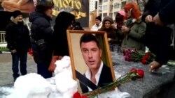 Акция памяти Бориса Немцова в Хабаровске