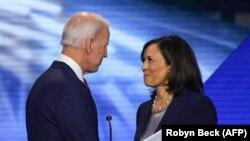 Избраниот претседател на САД Џо Бајден и избраната потпретседателка Камала Харис