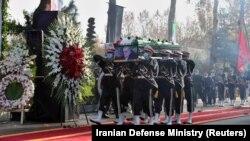 Пахаваньне Фахрызадэ, Тэгеран, Іран, 30 лістапада 2020 году