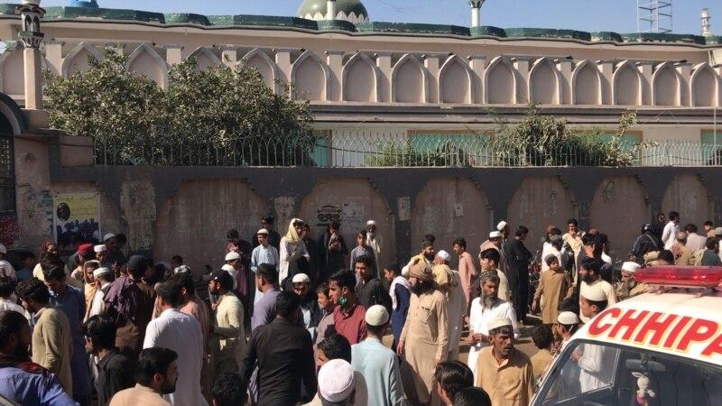 Pakistanda bir dini mekdepde bolan partlamada azyndan dokuz okuwçy öldürildi, köp adam ýaralandy