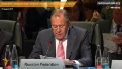 Лавров в ОБСЄ звинуватив Захід у підтримці «антиконституційного перевороту» в Україні