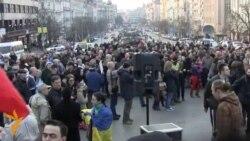 У Чехії мітингували через Крим