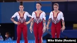 Олімпійські ігри в Токіо. Німецькі гімнастки виступають у закритих комбінезонах замість гімнастичного трико