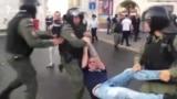 Задержания участников митинга и шествия против пенсионной реформы в Казани