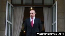 ولادیمیر پوتین، رئیس جمهور روسیه