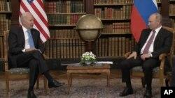 Joe Biden și Vladimir Putin s-au întâlnit la Geneva
