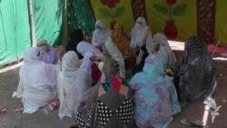 اسلام اباد کې د پښتونخوا د مامورینو مظاهره