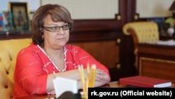 Віце-прем'єрка російського уряду Криму Олена Романовська