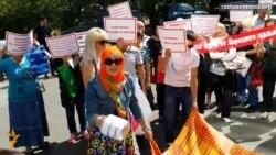 Світ у відео: У Казахстані протестували проти дій «Народного банку»
