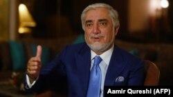 عبدالله عبدالله رئیس شورای عالی مصالحه ملیافغانستان