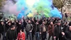 Mii de simpatizanți ai lui Nikol Pașinian au participat la un miting electoral la Erevan