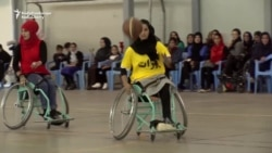 Women's Wheelchair Basketball Team Hits The Court In Kabul