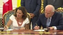 Україна і Канада підписали угоду про створення зони вільної торгівлі (відео)
