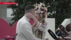 Свадьба в Борисполе. В Украине разрешили жениться в аэропорту