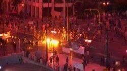 В Греции бьют витрины, протестуя против экономии