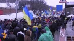 Активісти Євромайдану мітингували біля «1+1»