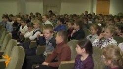 Такінданг правёў заняткі ў менскай школе
