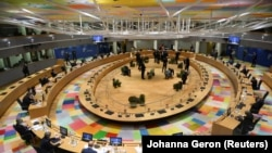 Состанок на лидерите на ЕУ во Брисел, 01.10.2020.