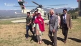 Nobel Prize Winner Malala Returns To Hometown In Pakistan