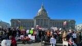Акции протеста российской диаспоры в Сан-Франциско