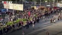 Belarusda protestler tapgyr 5-nji gije dowam etdi