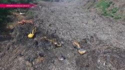 Львов в трауре: хоронят погибших при обвале мусора на городской свалке