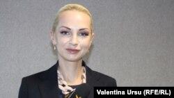 Vicepreședinta partidului Șor, Marina Tauber