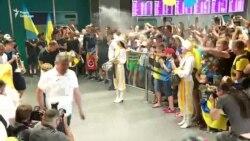 Чемпіонів світу U-20 зустрічають в аеропорту «Бориспіль» – відео