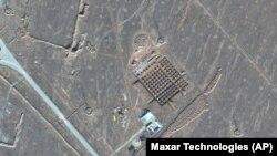 Спутниковое фото ядерного объекта в Фордо.