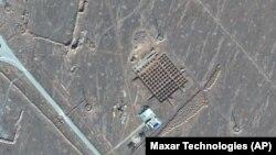 Спутниковое фото ядерного объекта в Фордо