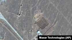 Спутниковый снимок строящегося подземного объекта в Фордо.