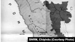 Basarabia și RASSM în hărțile sovietice (Sursă: BNRM, Chișinău)