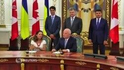 Ukrayna ilə Kanada azad ticarət zonası yaradırlar