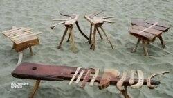 Эксклюзивная мебель: англичане выращивают столы и стулья в собственном саду