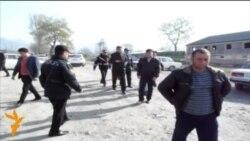 В Гебеле задержаны участники акции протеста рабочих